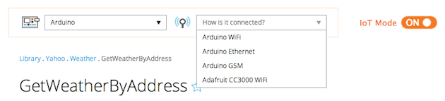 how to get and use api data in arduino