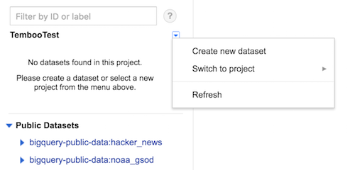 Arduino: Send sensor data to Google BigQuery