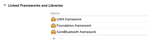 Adding new frameworks to your project in Xcode