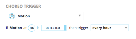 Setting a condition to trigger an email alert